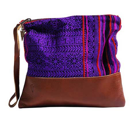 Patong Purple Clutch