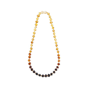 BALTIC AMBER NECKLACE POLISHED