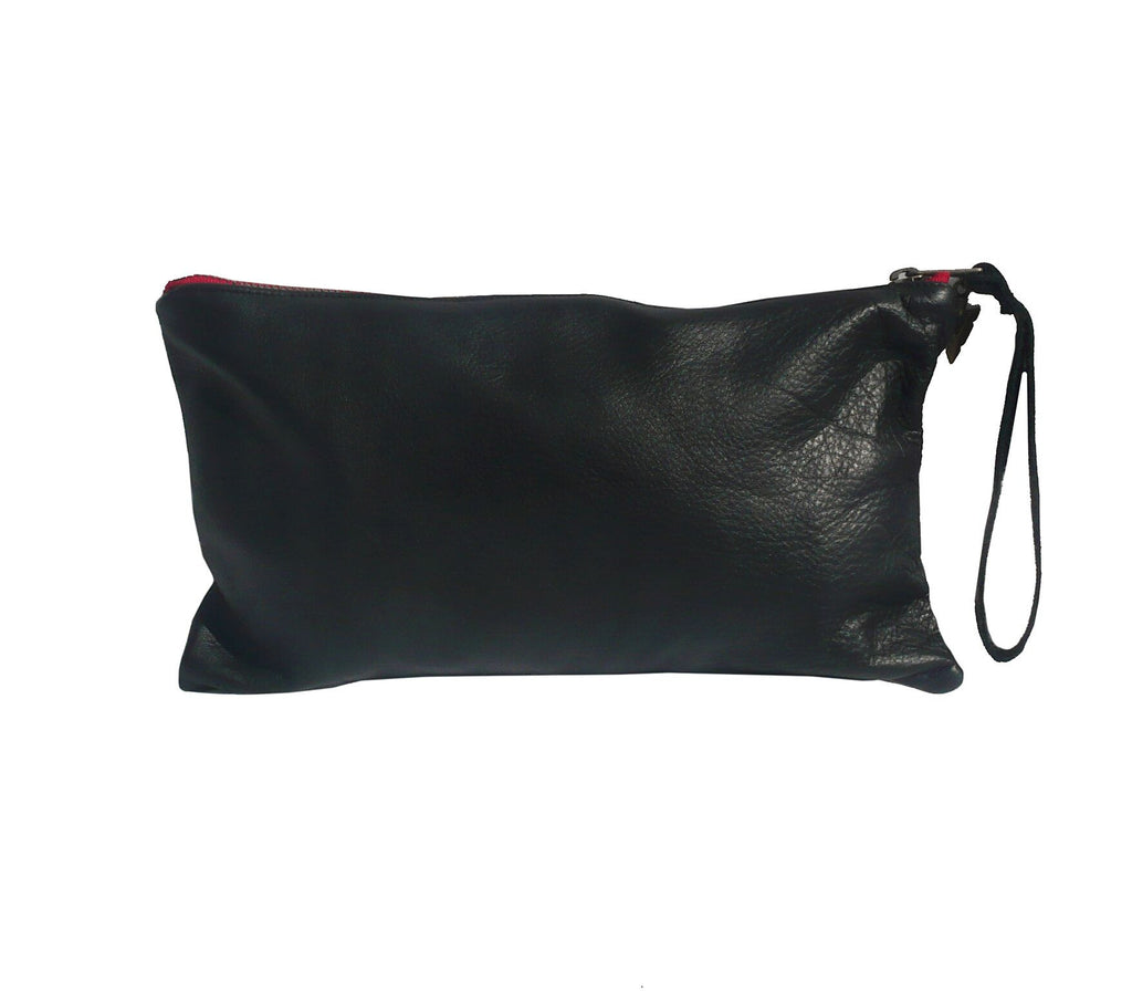 Long Ponderosa in Black Leather