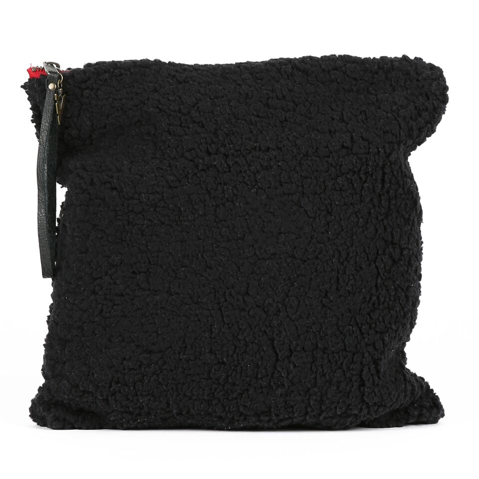 Sherpa Cheeky Black Large Clutch