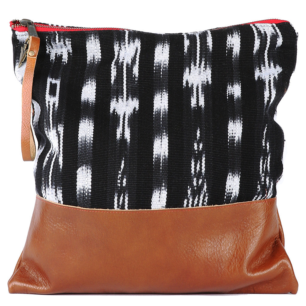 Ikat Large Clutch