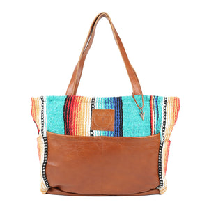 Texas Turquoise Diaper Bag