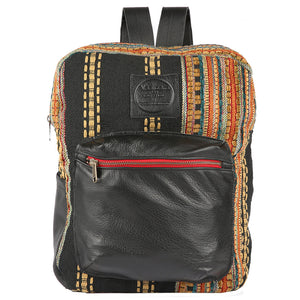 Pondarosa Backpack in Black Leather