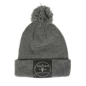 VAALBARA BALL BEANIE IN GREY