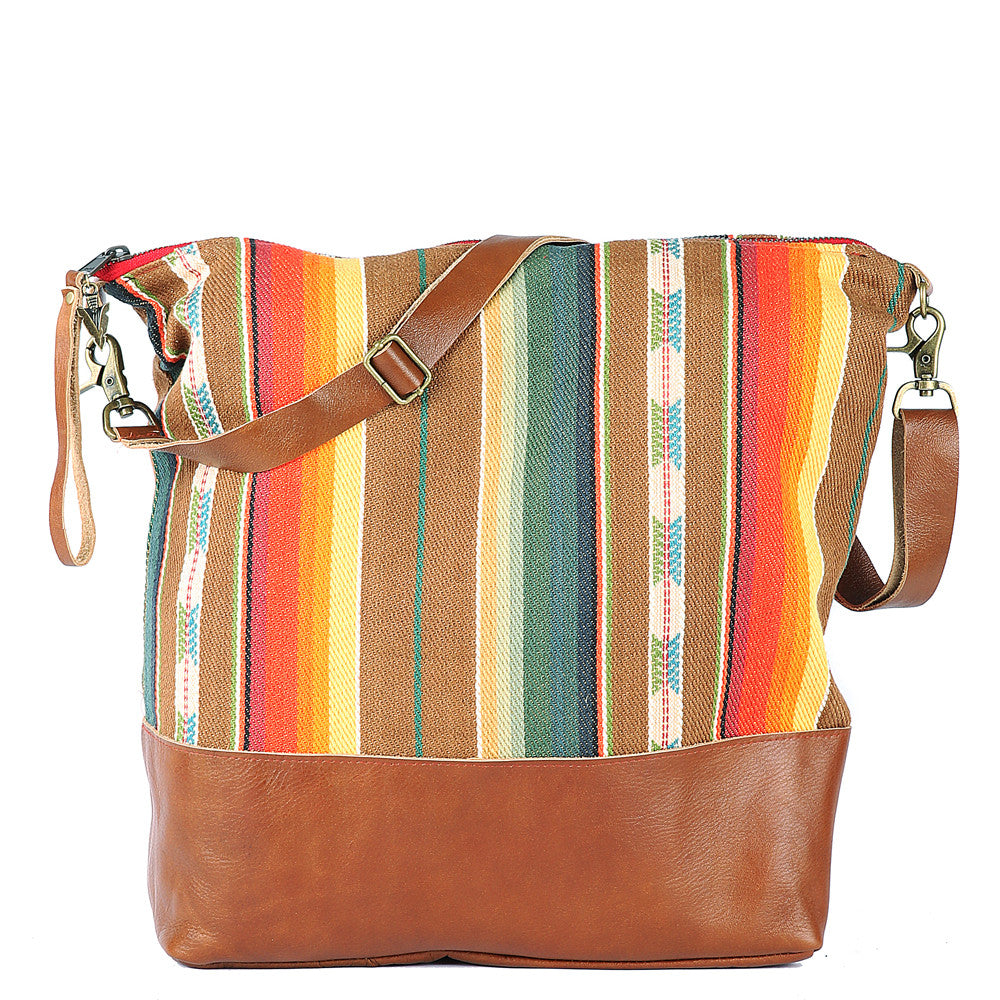 Large Messenger Santa Fe Clutch