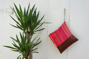 Thai Stripe Large Clutch