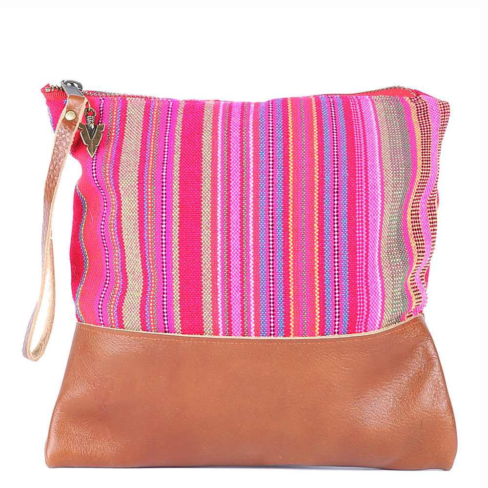Thai Stripe Clutch