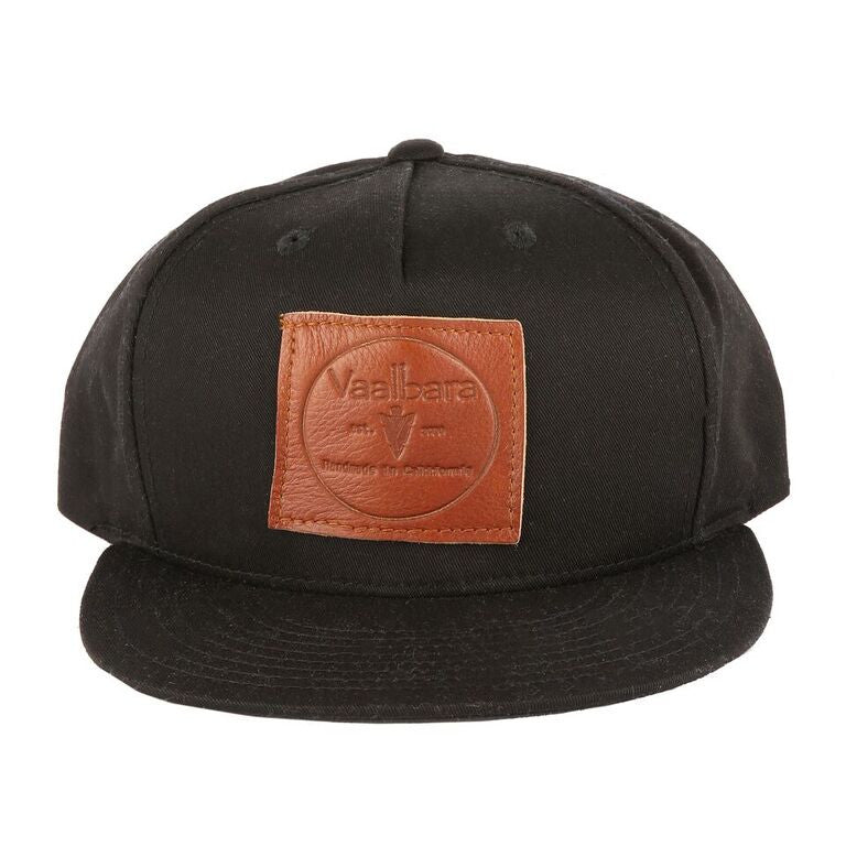 Vaalbara Baseball Cap in Black