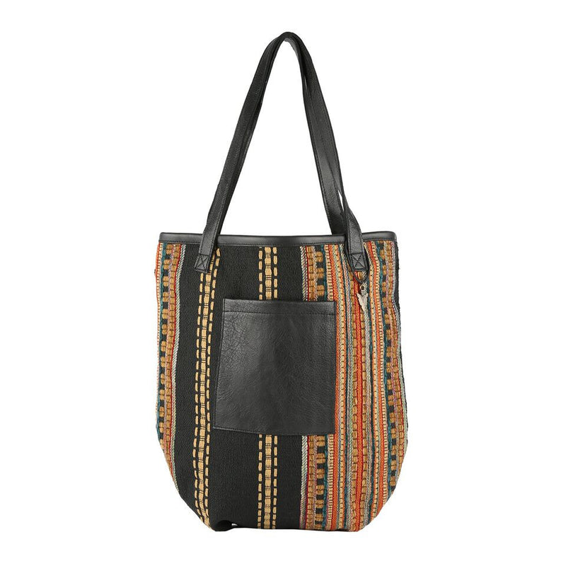 Taylor Tote Bag Pondarosa in Black Leather