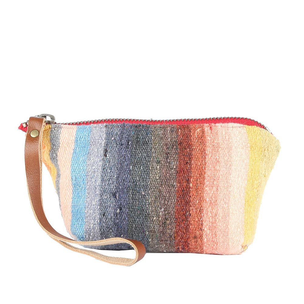 Chloe Pouch in Grey Serape