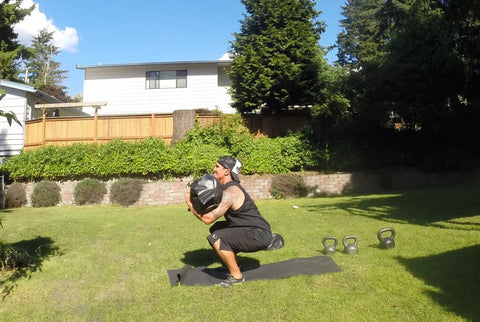 10339312 10203124548227190 2236828941592776059 o large - Get Off My Back! | Ultimate Sandbag Workout