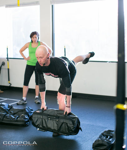 ultimate sandbag training