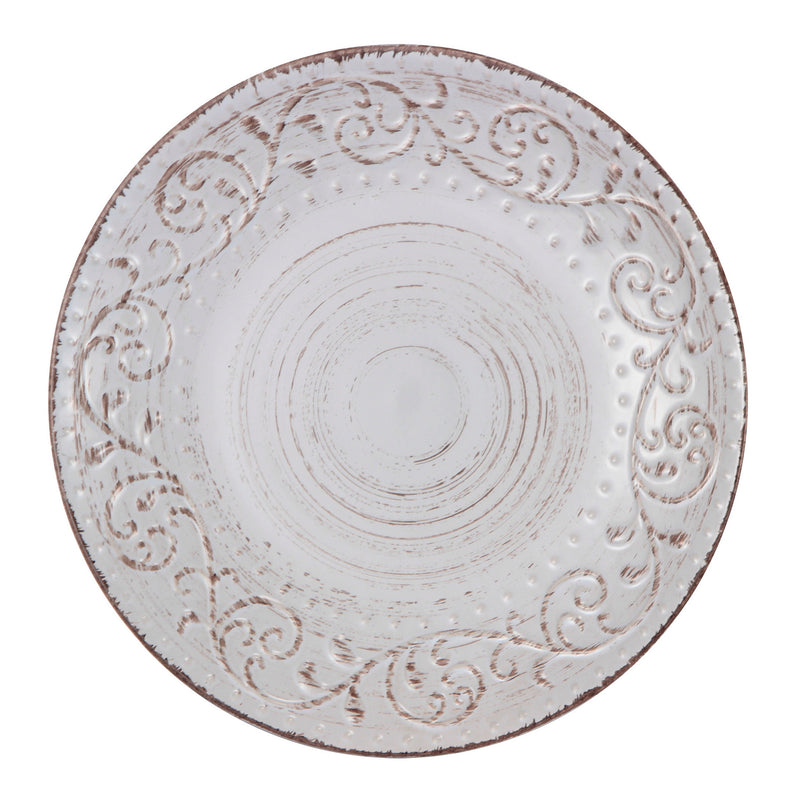 Bella Rustic Dinner Plate Cream