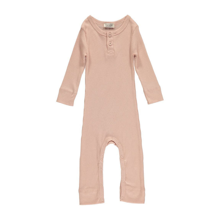 Rose Modal Ribbed Coverall