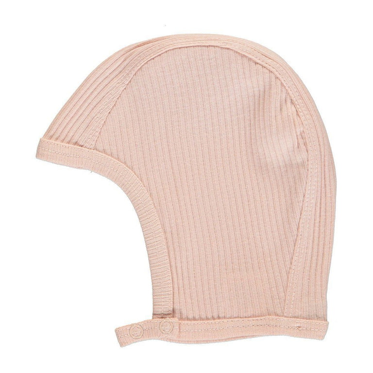 Rose Modal Ribbed Bonnet