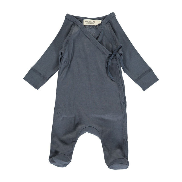 Blue Rubetta Modal Wrap Footie