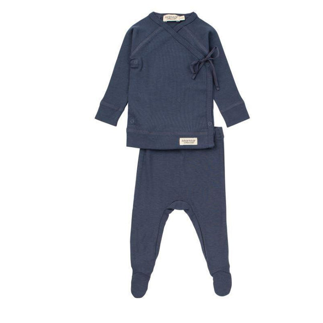 Blue Tut Wrap Modal 2 Piece Set