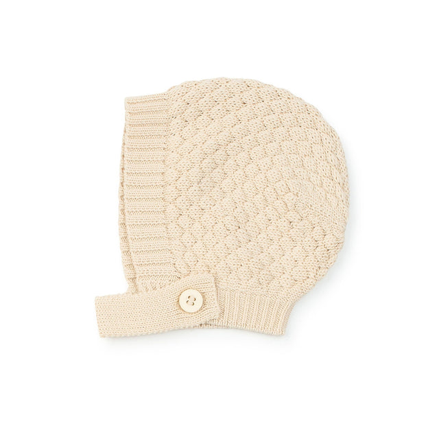 Natural Knit Bonnet