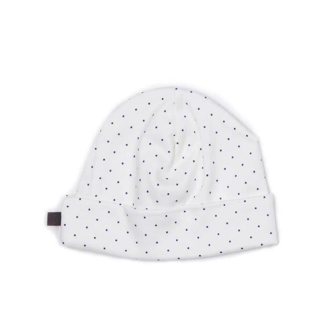Indigo Dots Cotton Beanie