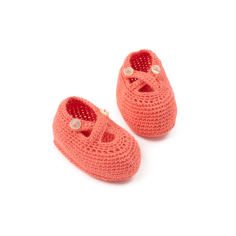 Papaya Knit Booties
