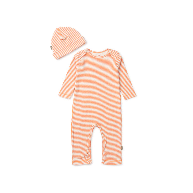Soft Orange Roman Organic Footie