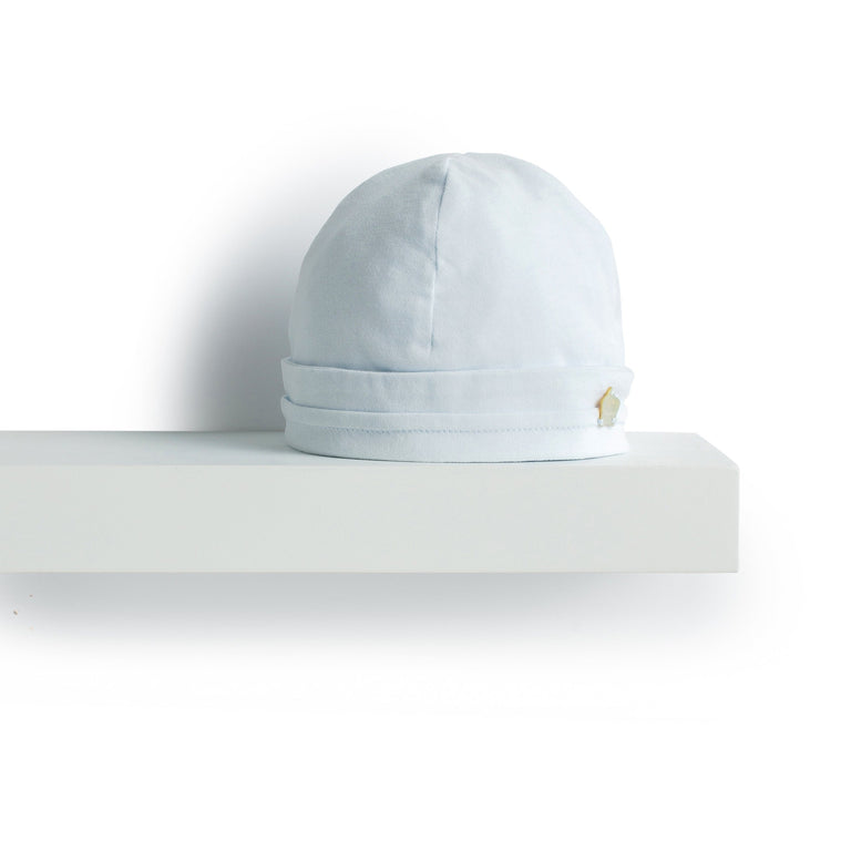 Sky Blue Emerised Cotton Hat