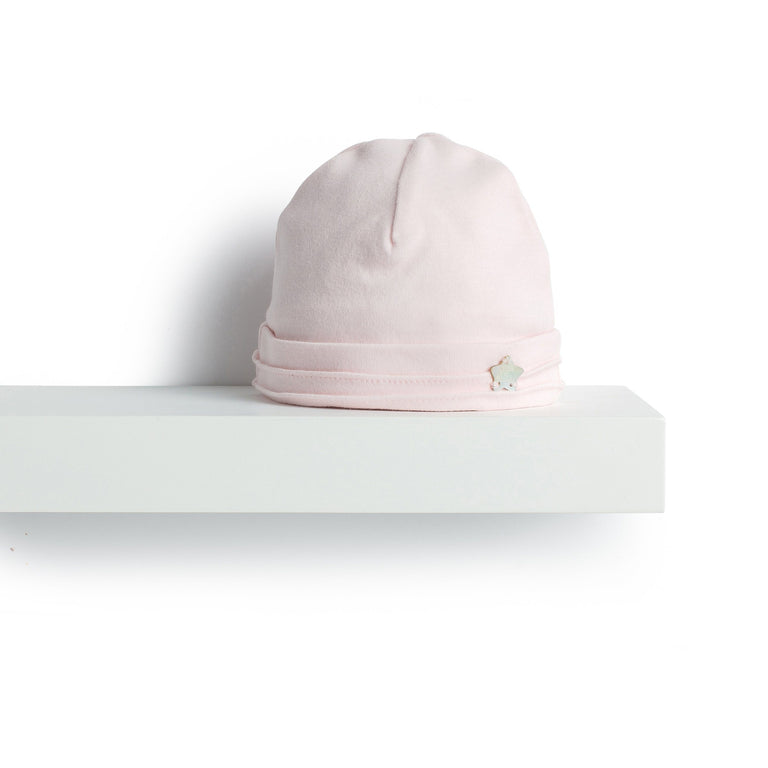Pale Pink Emerised Cotton Hat