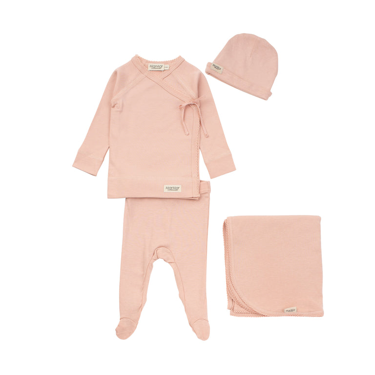 Rose Tut Wrap Modal 2 piece Set