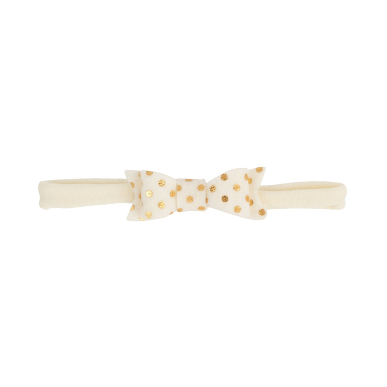 Adora Headband With Gold Dots