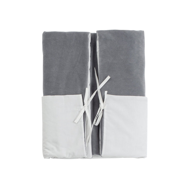 Grey Velour Valtherm Padded Blanket