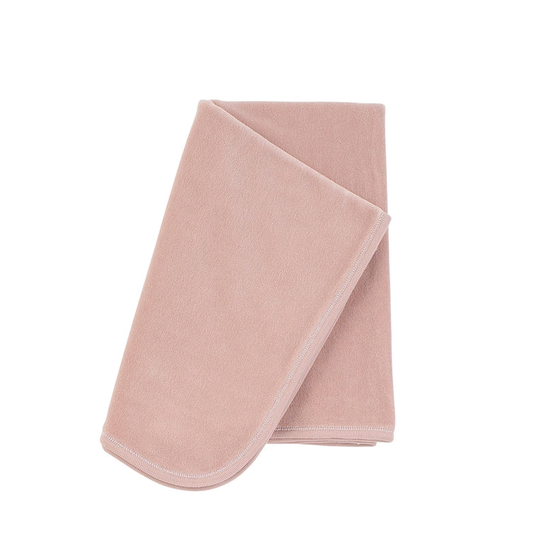Rose Pink Velour Blanket