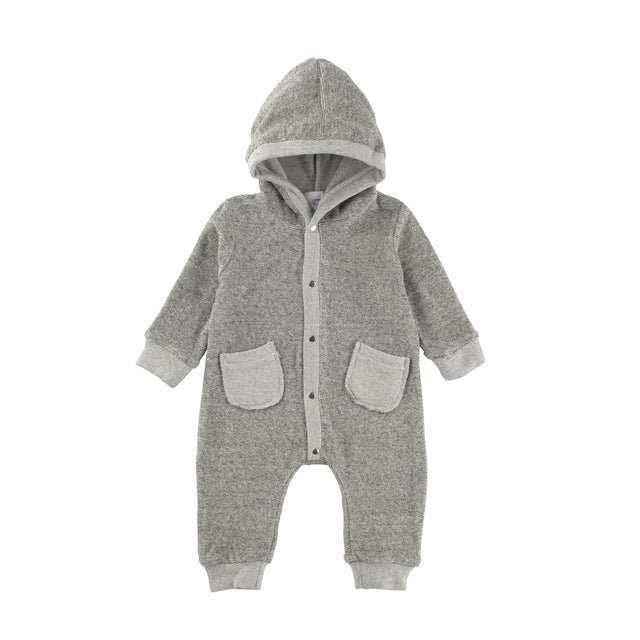 Heather Grey Terry Alex Coverall