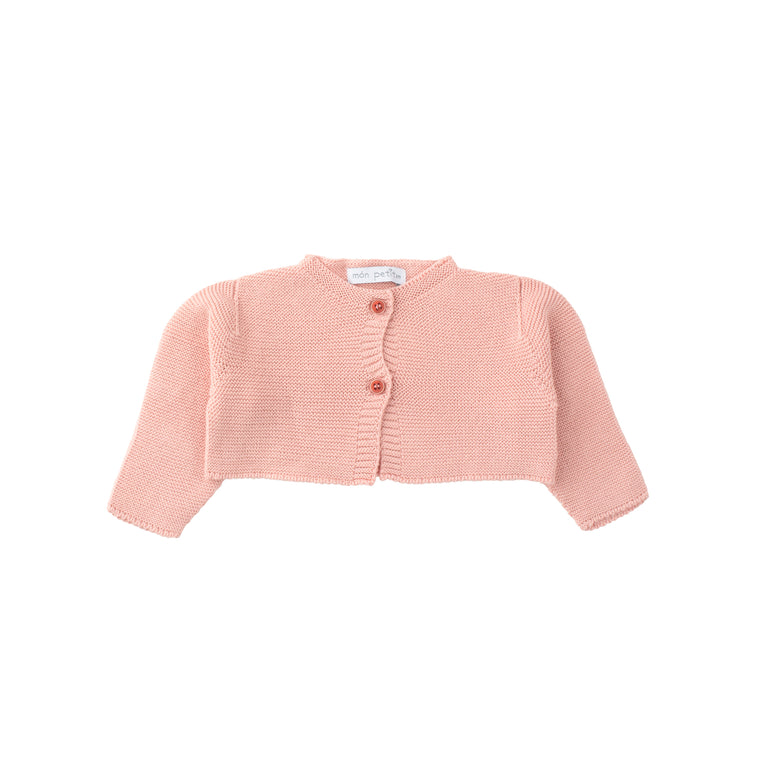 Powder Pink Knit Sweater