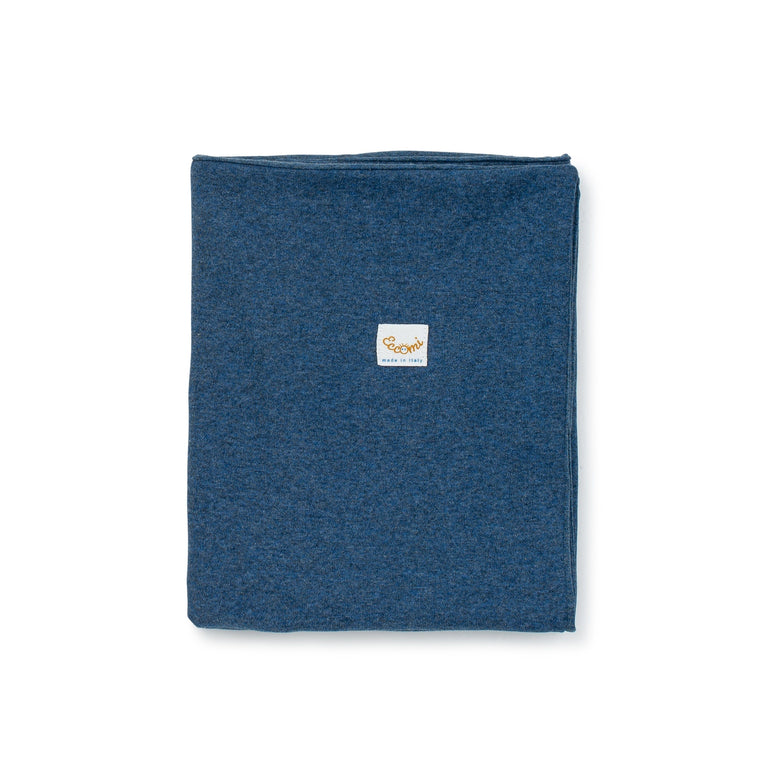 Blue Fleece Double Blanket