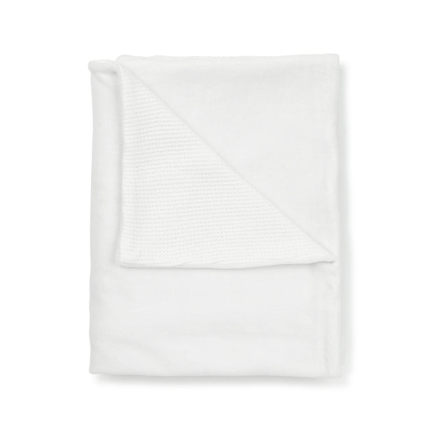 White  Double Blanket
