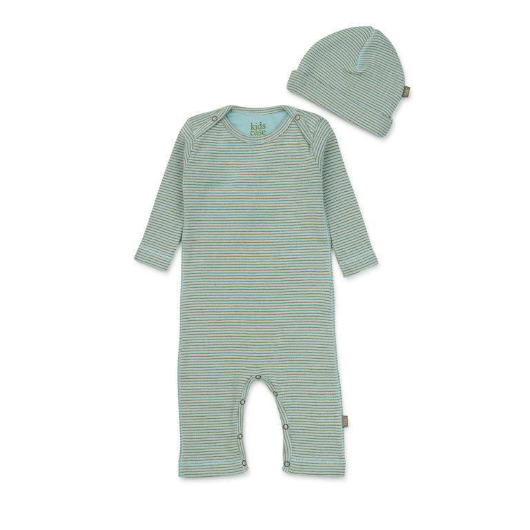 Light Blue Perrie Organic Coverall