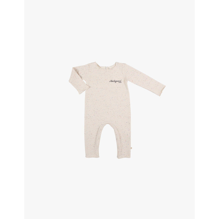 Fleece Multicolor Coverall