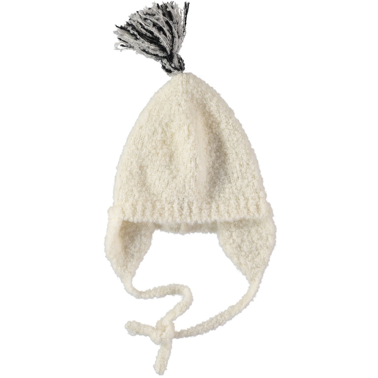 Ivory Baby Cloud Knit Hat
