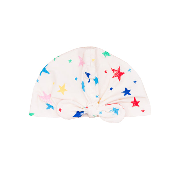 Multi Color Stars Knot Turban
