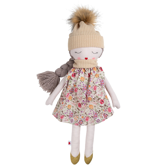 Plush Outdoor Rag Doll