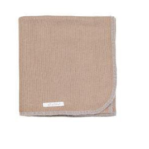 Camel Organic Cotton Blanket