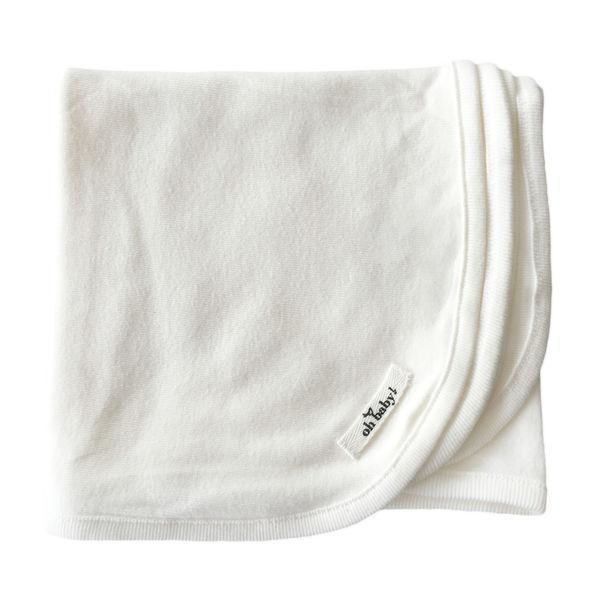 Cream Cotton Layette Blanket