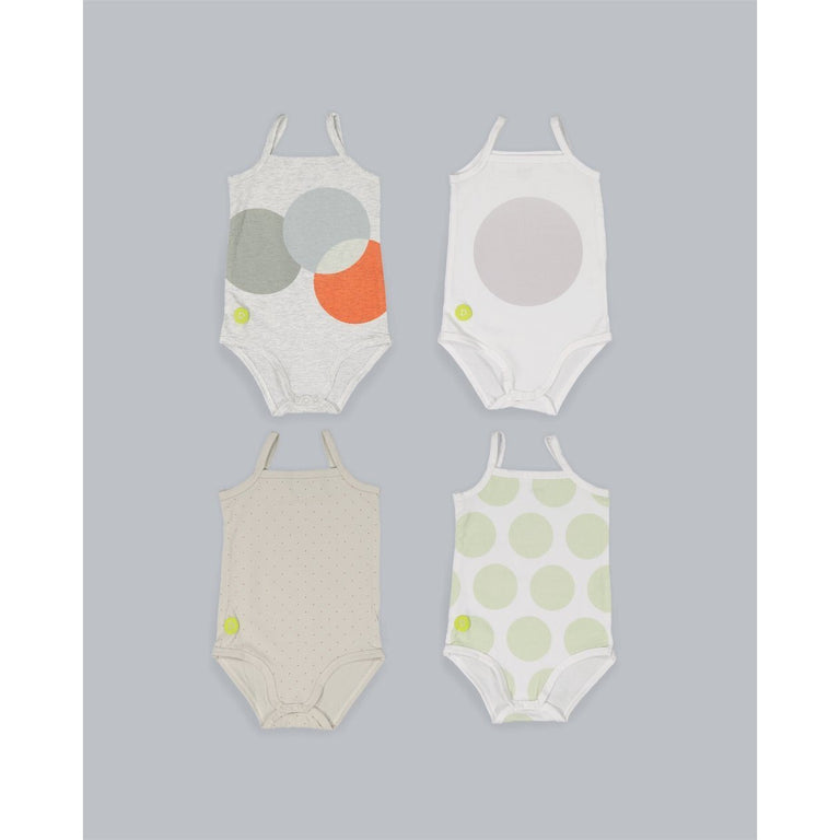 Baby Boy 4PC Onesie Set