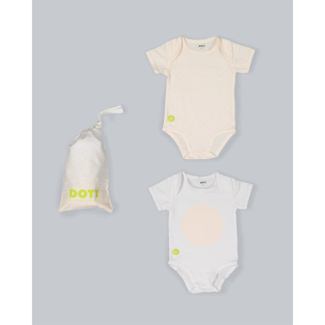 Baby Girl Short Sleeve 2 PC Onesie Set