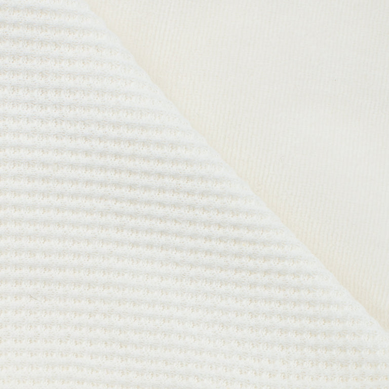Ivory Velour Double Blanket
