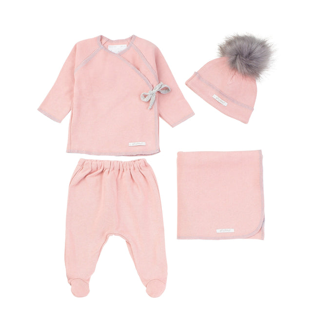 Pink Organic Cotton 2 Piece Set