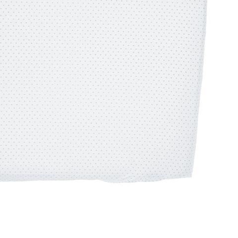 Grey Pin Dot Crib Sheet