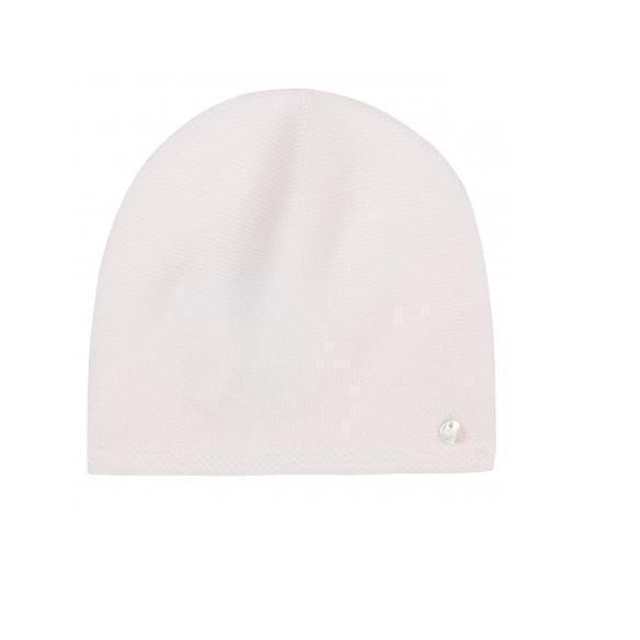 Pale Pink Knit Hat