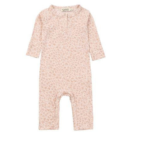 Barley Rose Leo Leopard Coverall