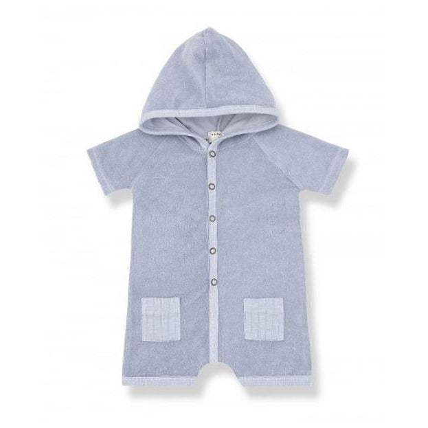 Light Blue Flynn Terry  Romper